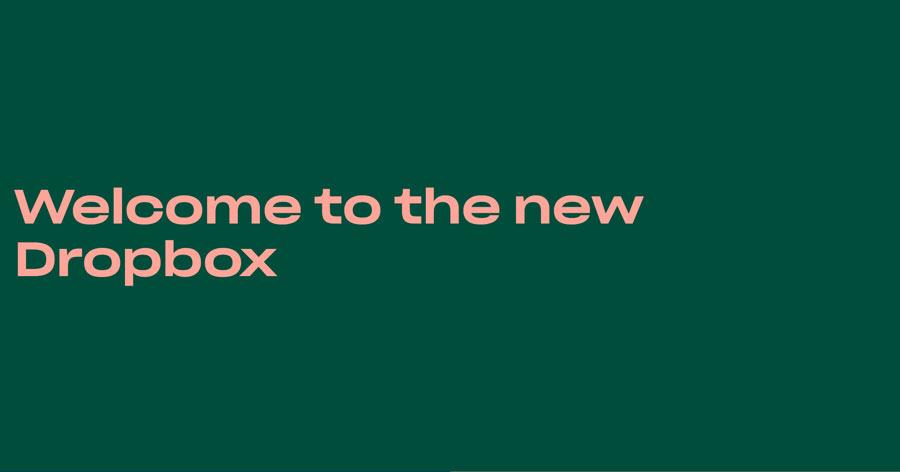 طراحی جدید دراپ باکس